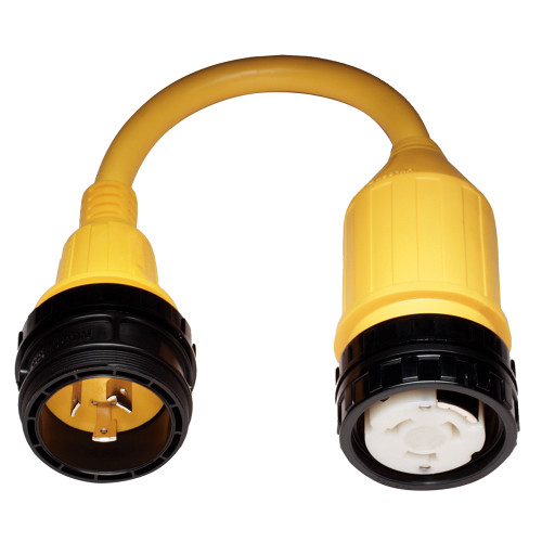 117A - Marinco 117A Pigtail Adapter - 50A Female to 30A Male