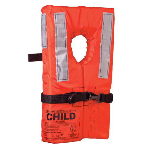 100100-200-002-12 - Kent Type I Collar Style Life Jacket - Child