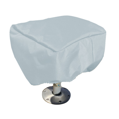 61060P-10 Carver Performance Poly-Guard Fishing Chair Cover - Grey