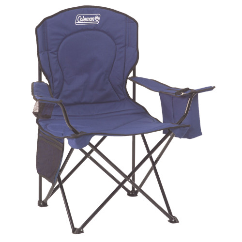 2000032008 Coleman Cooler Quad Chair - Blue