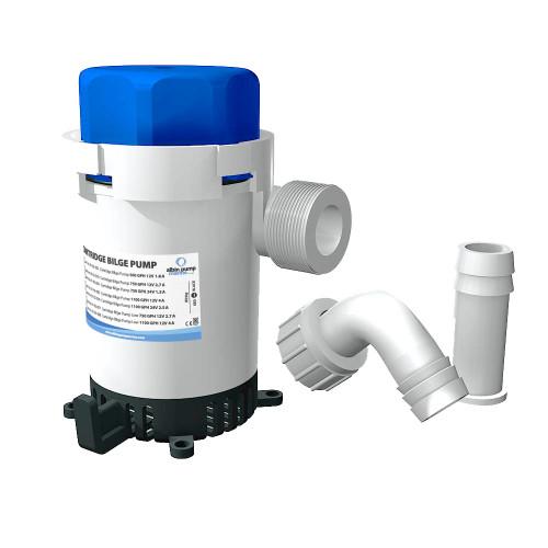 01-02-002 Albin Pump Cartridge Bilge Pump 500GPH - 12V