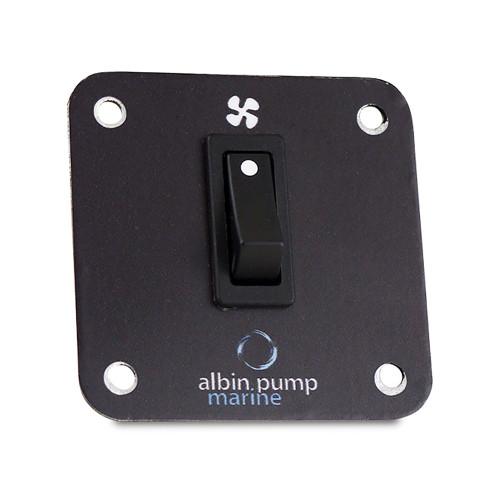 09-66-015 Albin Pump Marine Control Panel 2kW - 12V
