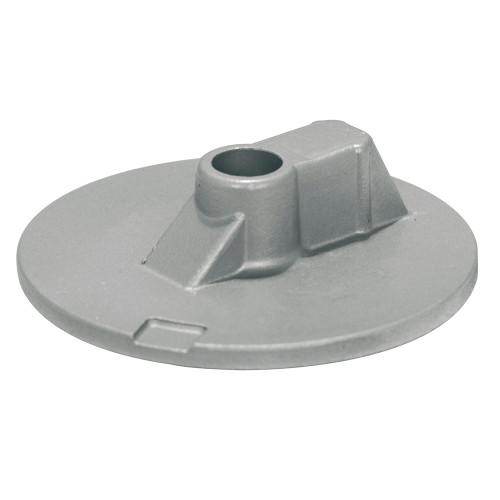 00835AL Tecnoseal Mercury/Mercruiser Aluminum Flat Trim Tab Anode - No Threads