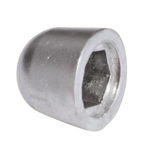 02480 Tecnoseal Zinc Nut Sidepower Anode f/SP125T-285TC, SE120, SE150, SP220/300 HYD & SH160 Sleipner Bow Thruster Propellers