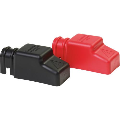 4018 Blue Sea 4018 Square CableCap Insulators Pair Red/Black