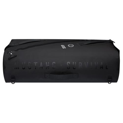 MA2612/02-13 Mustang Greenwater 65 Liter Waterproof Deck Bag - Black