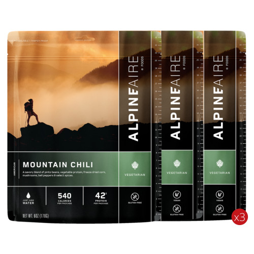 AlpineAire 3 Day Food Bundle FSA3