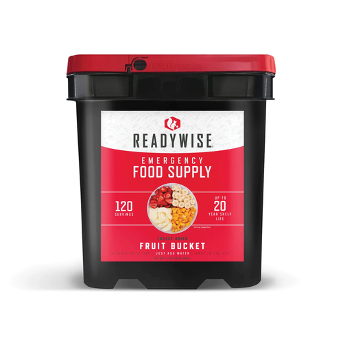 120 Serving Freeze Dried Fruit Bucket FSF120