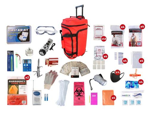 4 Person Elite Survival Kit (72+ Hours) SKT4