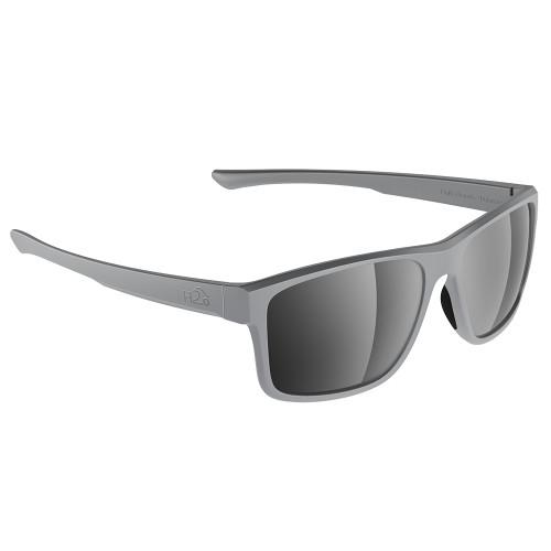 H2031 H2Optix Coronado Sunglasses Matt Grey, Grey Silver Flash Mirror Lens Cat. 3 - AR Coating