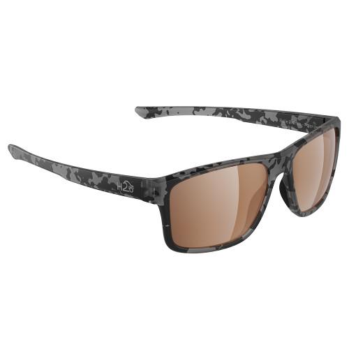 H2032 H2Optix Coronado Sunglasses Matt Tiger Shark, Brown Lens Cat. 3 - AR Coating