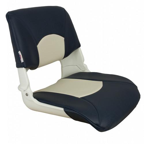 1061016 Springfield Skipper Standard Seat Fold Down - White/Blue