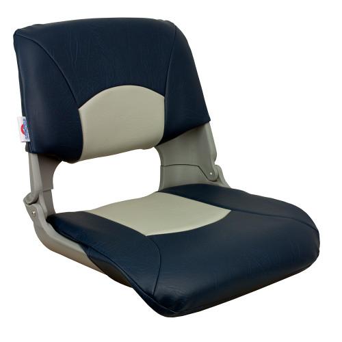 1061019 Springfield Skipper Standard Folding Seat - Grey/Blue