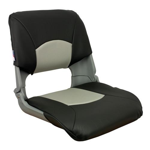 1061017 Springfield Skipper Standard Folding Seat - Grey/Charcoal