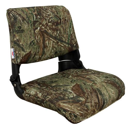 1061021 Springfield Skipper Premiun Folding Seat - Mossy Oak Duck Blind w/Black Shell