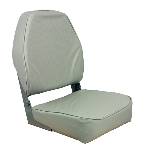 1040643 Springfield High Back Folding Seat - Grey