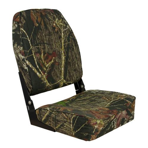 1040646 Springfield High Back Folding Seat - Mossy Oak Break-Up
