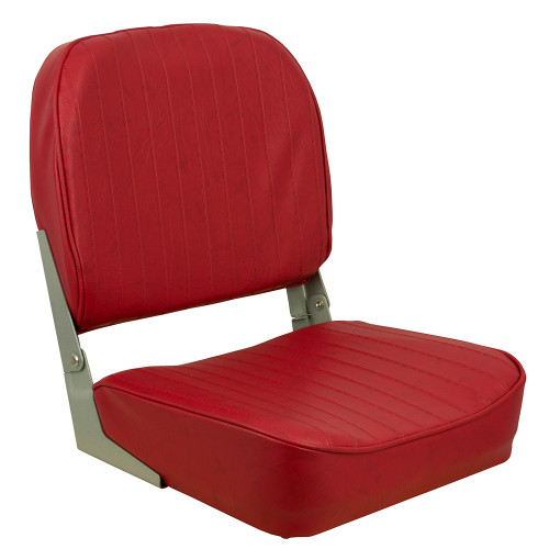1040625 Springfield Economy Folding Seat - Red