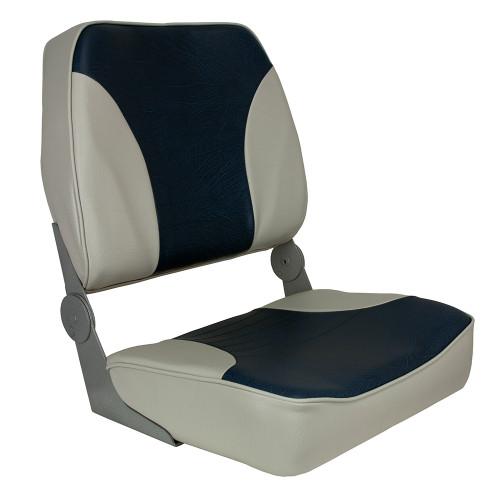 1040691 Springfield XXL Folding Seat - Grey/Blue