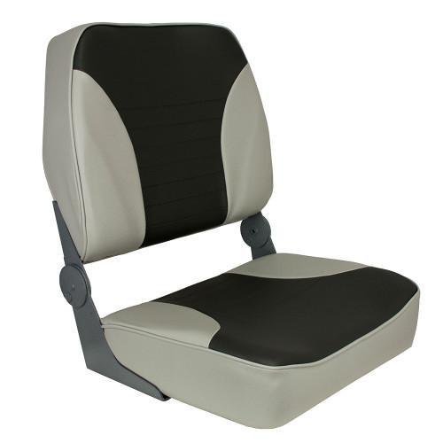 1040693 Springfield XXL Folding Seat - Grey/Charcoal