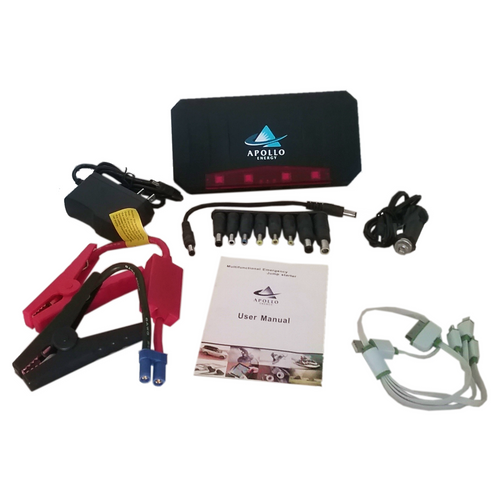 Apollo Energy Micro Power Pack 650A 12v Portable Multi-function Emergency Jump Starter
