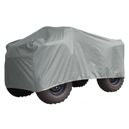 1002P-10 Carver Performance Poly-Guard Medium Snowmobile Cover - Grey