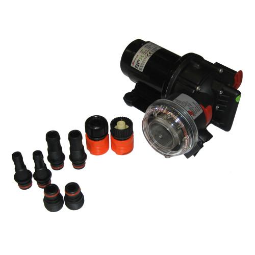 23610-3003 Jabsco Maxi Puppy 3000 12V Flexible Impeller Pump