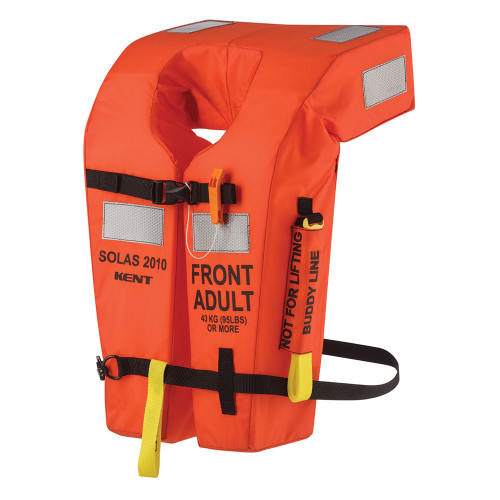 100300-200-004-13 - Kent USCG/SOLAS Type 1 Vest - Orange