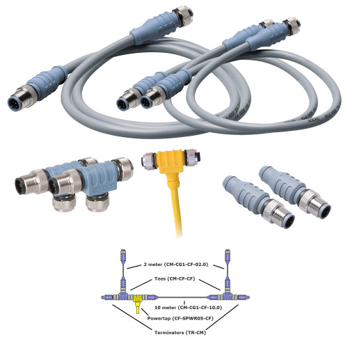 CABLE-STARTER-KIT - Maretron NMEA2000 Cable-Starter-Kit Deluxe