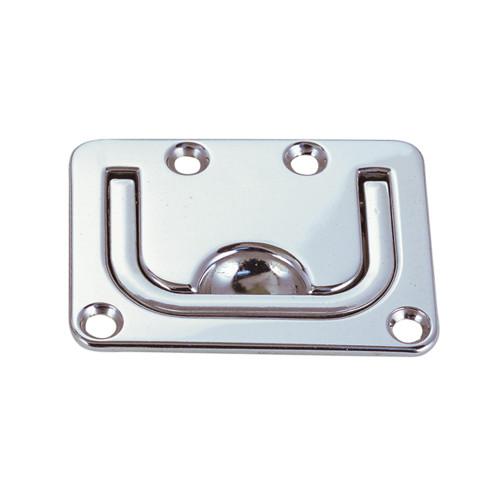 "1220DP0CHR - Perko Flush Lifting Handle - Chrome Plated Zinc - 3"" x 2-¼"""