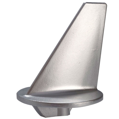 00801 - Tecnoseal Trim Tab Anode - Zinc - Long - Mercruiser 80-140HP