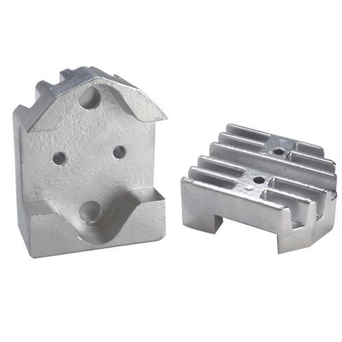 00806 - Tecnoseal Gimbal Block Anode - Zinc Finned