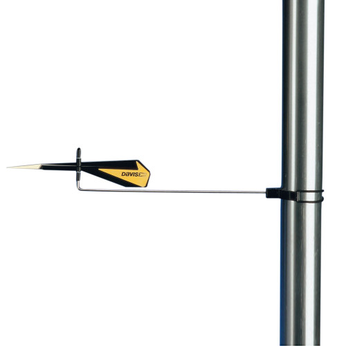 1295 - Davis Black Max Wind Direction Indicator
