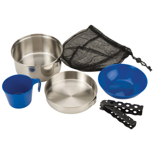 2000015180 - Coleman 1 Person Mess Kit - Stainless Steel