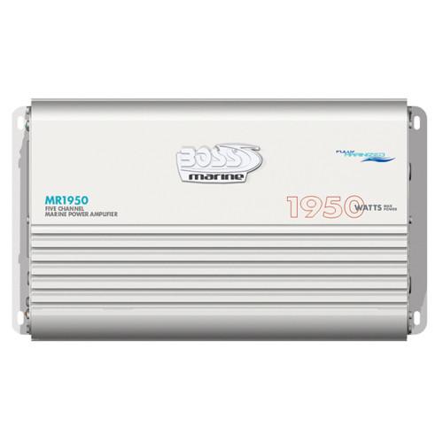 MR1950 - Boss Audio MR1950 Marine 5 Channel Full Range Class A/B Power Amplifier - 1950W