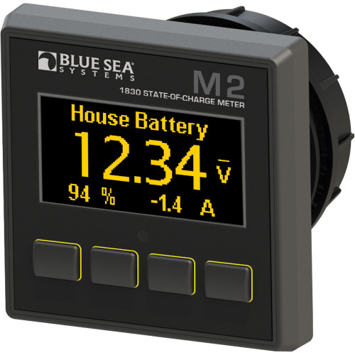 1830 - Blue Sea 1830 M2 DC SoC State of Charge Monitor