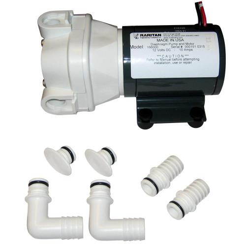 166000 - Raritan Diaphragm Intake Pump - 12VDC