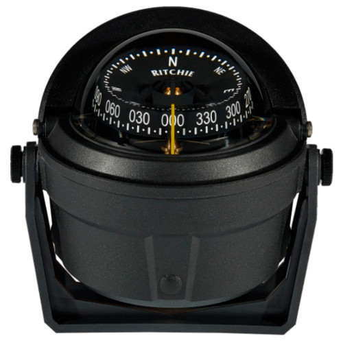 B-81-WM - Ritchie B-81-WM Voyager Bracket Mount Compass - Wheelmark Approved f/Lifeboat & Rescue Boat Use
