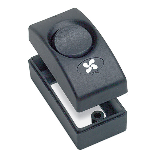 1100-BK - Marinco Countour 1100 Series Single Interior Switch - On/Off - Black
