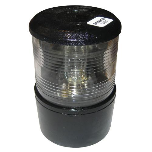 0200MB0DP1 - Perko Masthead Light f/Sail or Power Less Than 20M - 12VDC - Black Base Mount/White Light