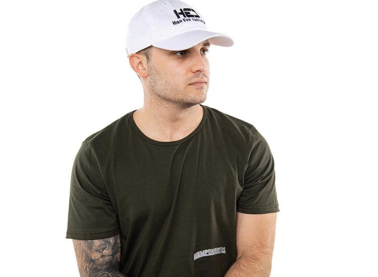Men's HempQuarters Low-Mid T-Shirt (Dark Green)