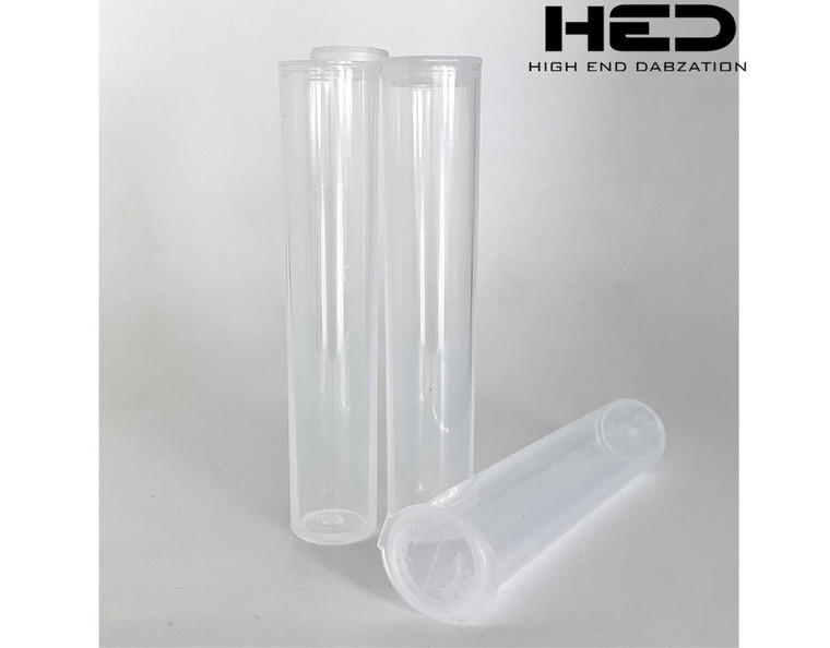 High End Plastic Tubes (100 Pack)