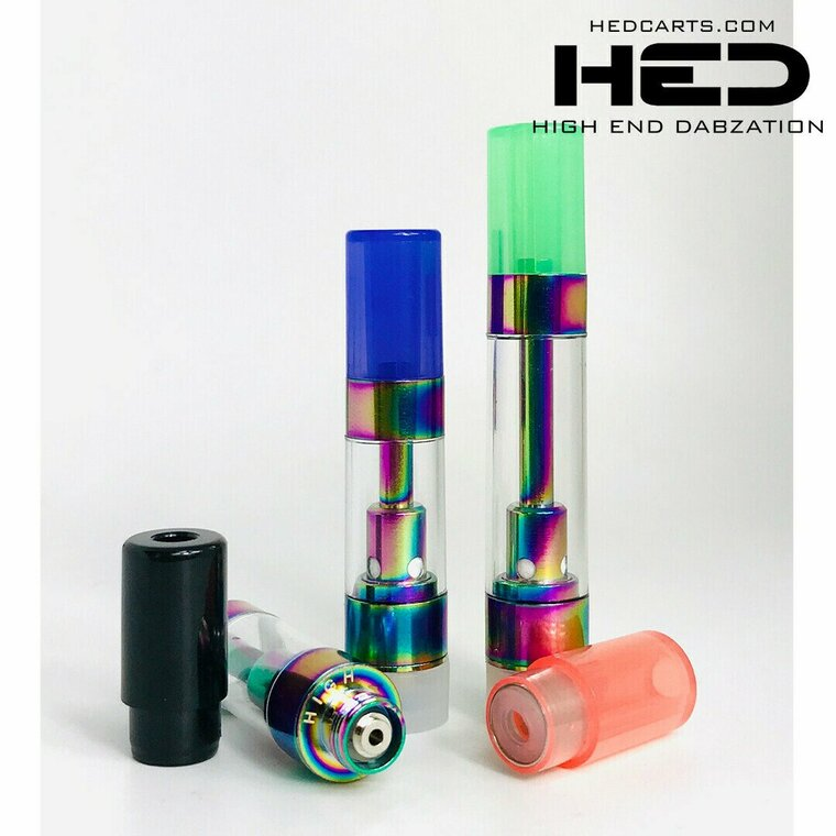 H E D Tri-Color Pressurized Ceramic Oil Cartridge