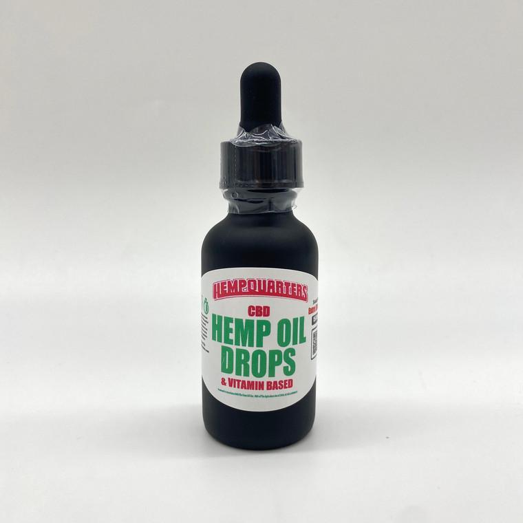 Hemp Oil Vitamin Drops 1500 mg of CBD