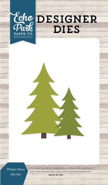 ILW115043 - Winter Pines Die Set