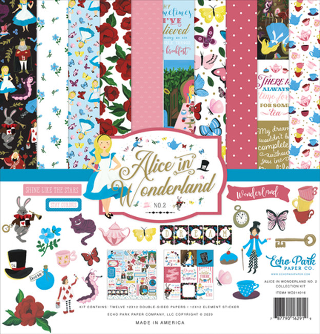 WO214016 - Alice in Wonderland No. 2 Collection Kit