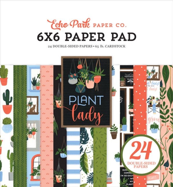 PLA211023 - Plant Lady 6x6 Paper Pad