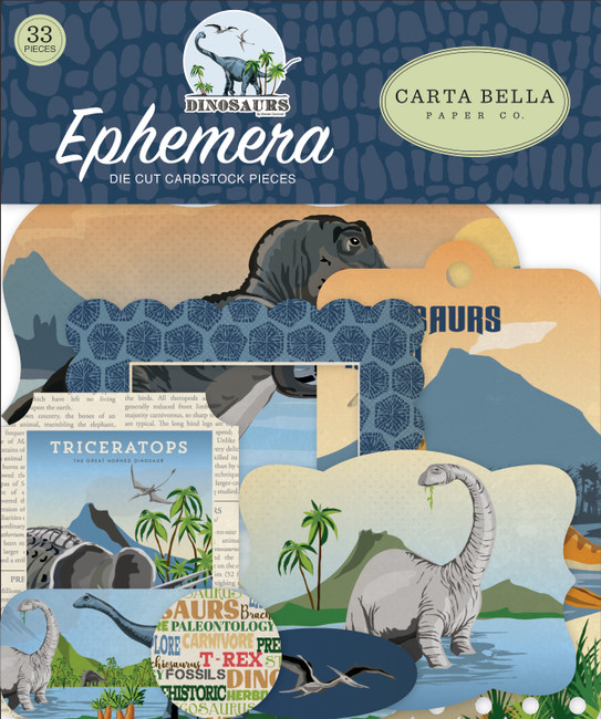 CBDI110024 - Dinosaur Ephemera