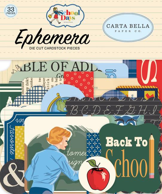 CBDS118024 - School Days Ephemera