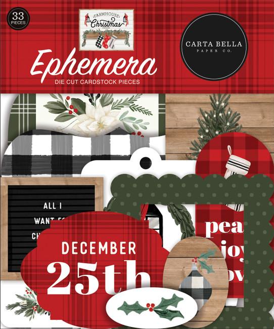 CBFAC123024 - Farmhouse Christmas Ephemera